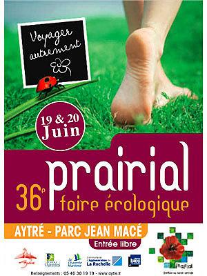 Photo : La Rochelle - Aytré : Prairial, 36e foire écologique les 19 et 20 juin 2010