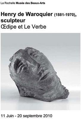 Photo : Henry de Waroquier, exposition au musée des Beaux Arts à La Rochelle jusqu'au 20 septembre 2010