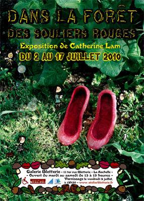Photo : La Rochelle : Catherine Lam expose à la galerie Bletterie du 2 au 17 juillet 2010