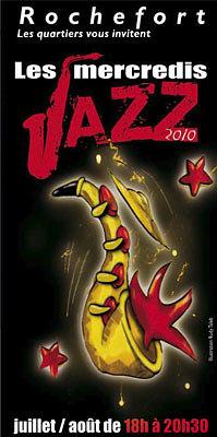 Photo : Les mercredis du jazz à Rochefort, juillet - août 2010