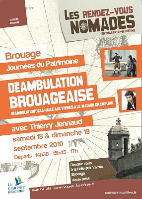 Photo : Brouage, journées du patrimoine,  18 et 19 septembre 2010