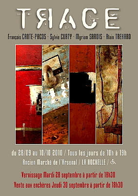Photo : La Rochelle : Trace, exposition collective 28 sept. - 10 oct. 2010