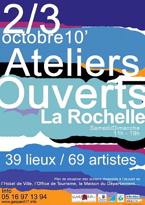 Photo : La Rochelle : Ateliers Ouverts, sam. 2 et dim. 3 octobre 2010