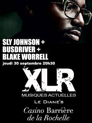 Photo : La Rochelle : Sly Johson, Busdriver et Bake Worell  en concert, jeudi 30 sept. 2010