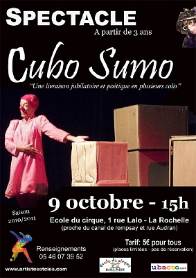 Photo : La Rochelle, spectacle jeune public, samedi 9 oct. 2010 à 15h