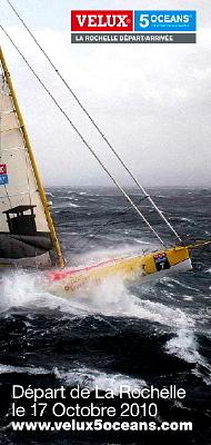 Photo : La Rochelle Nautisme : Velux 5 Oceans du 9 au 17 octobre 2010