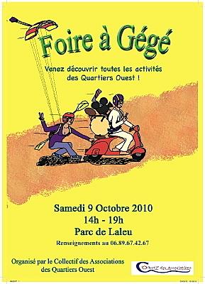 Photo : La Rochelle quartiers Ouest : la Foire à Gégé samedi 9 octobre 2010