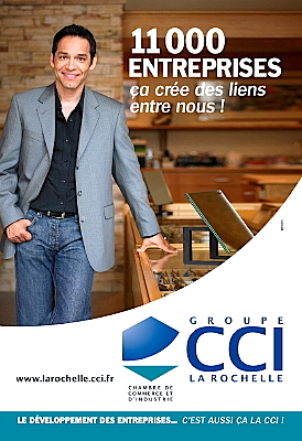 Photo : La Rochelle : c'est aussi ça la CCI !