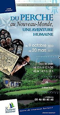Photo : Exposition à Brouage : du Perche au Nouveau-Monde, octobre 2010 - mars 2011