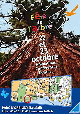 Photo : La Rochelle : fête de l'arbre vendredi 22 et samedi 23 octobre 2010