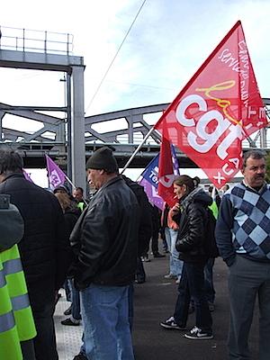 Photo : Gare S.N.C.F - La Rochelle, 22 oct. 2010