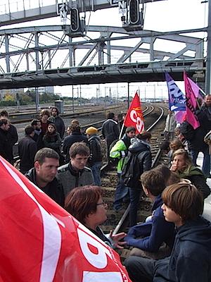 Photo : Gare S.N.C.F La Rochelle, 22 oct. 2010