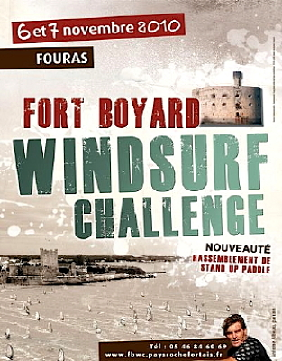 Photo : Charente-Maritime : Fort Boyard Windsurf Challenge, sam. 6 et dim. 7 nov. 2010 à Fouras