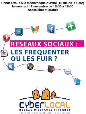 Photo : La Rochelle - Aytré : RV réseaux sociaux, mercredi 17 nov. 2010