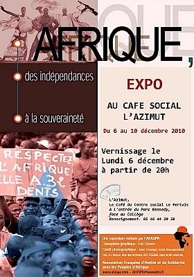 Photo : La Rochelle : Afrique, exposition du 6 au 10 décembre 2010