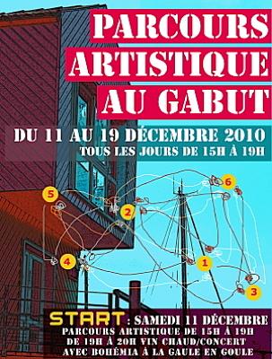 Photo : La Rochelle - Le Gabut : parcours artistique au Gabut du 11 au 19 décembre 2010