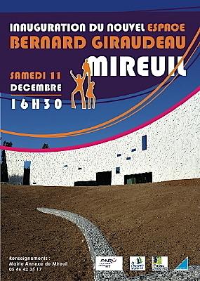 Photo : La Rochelle - Mireuil : inauguration Espace Bernard Gireaudeau, sam. 11 déc. 2010