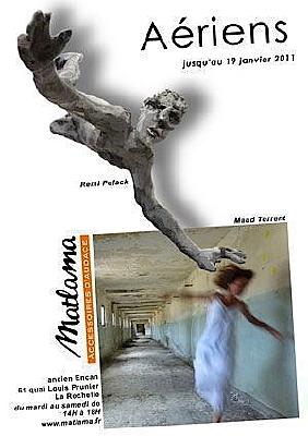 Photo : La Rochelle : Aériens, exposition chez Matlama jusqu'au 19 janvier 2011