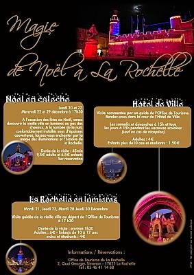 Photo : La Rochelle : magie de Noël avec l'Office de tourisme, décembre 2010