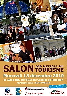 Photo : Rochefort : salon des métiers du tourisme, 15 déc. 2010
