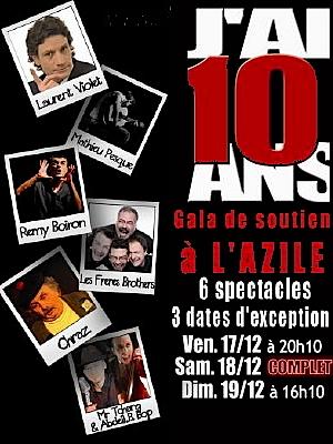 Photo : La Rochelle : gala de soutien au café concert  l'Azile du 17 au 19 déce. 2010
