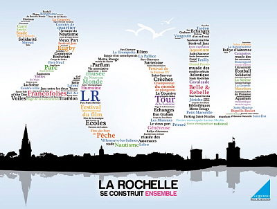 Photo : La Rochelle : carte de voeux multimédia 2011
