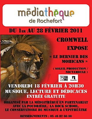 Photo : Rochefort BD : exposition Cromwell - février 2011 et soirée vendredi 18 février