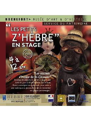 Photo : Au musée de Rochefort : ateliers Les petits Z'Hèbre, vacances de février 2011