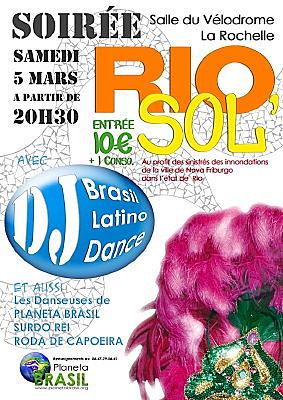 Photo : La Rochelle solidarité : soirée brésilienne, samedi 5 mars 2011