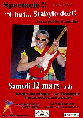 Photo : La Rochelle spectacle jeune public, samedi 12 mars 2011 à 15h