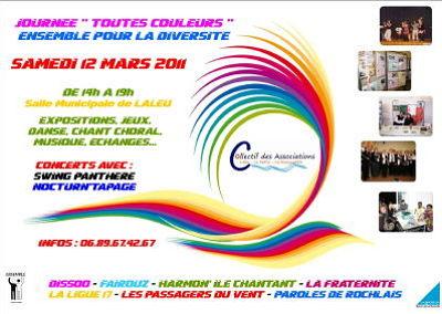 Photo : La Rochelle - associations : Toutes Couleurs à Laleu, samedi 12 mars 2011