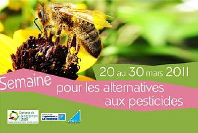 Photo : La Rochelle : une semaine pour les alternatives aux pesticides 20-30 mars 2011