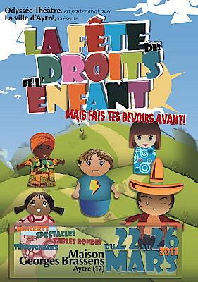 Photo : La Rochelle - Aytré :  Fête des droits de l'enfant du 22 au 26 mars 2011