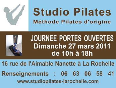 Photo : La Rochelle - sport et forme : portes ouvertes au Studio Pilates, dimanche 27 mars 2011