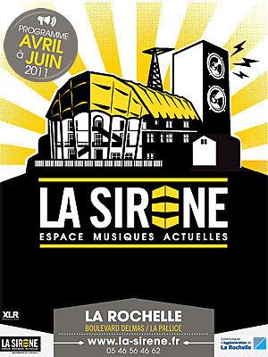 Photo : La Rochelle, musiques actuelles : R.V à La Sirène les 1er et 2 avril