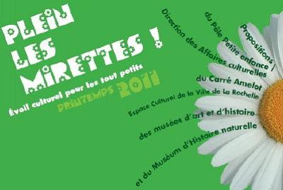 Photo : La Rochelle : plein les mirettes pour les tout petits, avril 2011