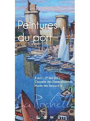 Photo : Exposition : La Rochelle, peintures du port du 8 avril au 1er mai 2011