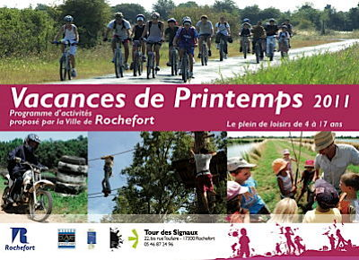 Photo : Rochefort : Ti'Vac pour les enfants et les ados, vacances de printemps 2011
