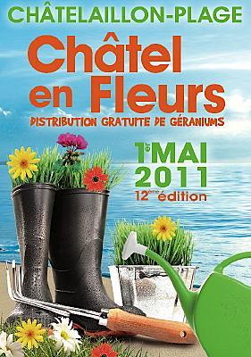 Photo : La Rochelle sud : Châtel en fleurs, dimanche 1er mai 2011