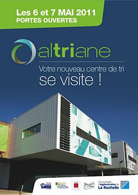 Photo : Agglo La Rochelle - Tri sélectif : portes ouvertes au centre Altriane les 6 et 7 mai 2011