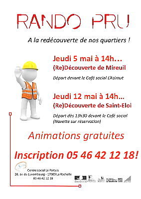 Photo : La Rochelle : randonnées urbaines, jeudi 5 et jeudi 12 mai 2011