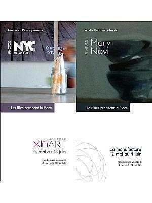 Photo : La Rochelle Expo : Xin Art - La Manufacture, les filles prennent la place mai-juin 2011