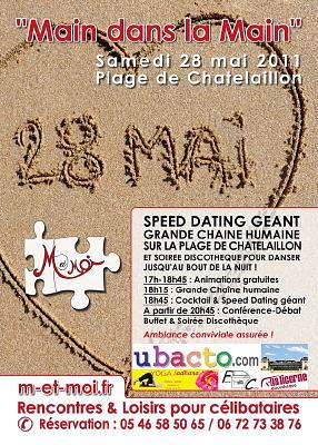 Photo : La Rochelle sud - Châtelaillon : Main dans la main, rencontres, samedi 28 mai 2011