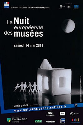 Photo : Charente-Maritime de La Rochelle à saintes : Nuit des musées, samedi 14 mai 2011
