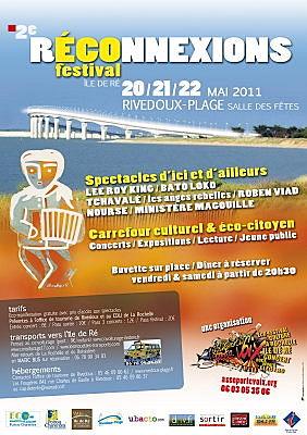 Photo : La Rochelle - île de Ré : Réconnexions, festival du vend. 20 au dimanche 22 mai 2011