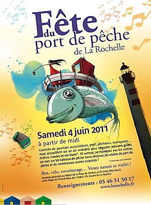 Photo : La Rochelle : 15e fête du port de pêche, samedi 4 juin 2011 !