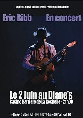Photo : La Rochelle blues : Eric Bibb en concert au Diane's - Casino Barrière, jeudi 2 juin 2011