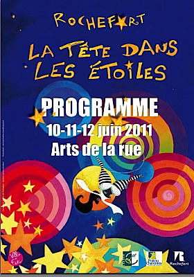 Photo : Charente-Maritime - Rochefort en fête : La tête dans les étoiles du vend. 10 au dim. 12 juin 2011