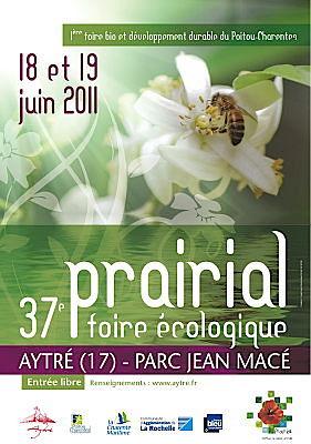 Photo : La Rochelle - Aytré : Prairial, 37e foire écologique, sam. 18 et dim. 19 juin 2011