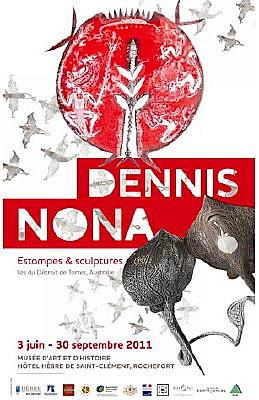 Photo : Rochefort - Charente-Maritime : exposition Dennis Nona jusqu'au 31 décembre 2011
